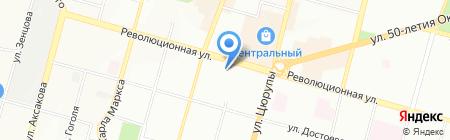 Плазма на карте Уфы