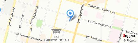 Банкомат АКБ Абсолют Банк на карте Уфы