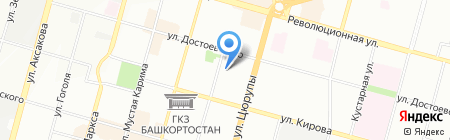 Lavande на карте Уфы
