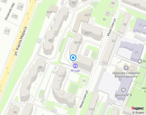 Управляющая компания «ЖИЛФОНДСЕРВИС» на карте Уфы