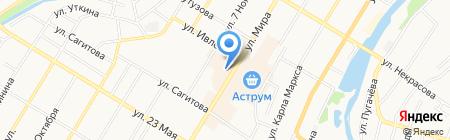 Магазин женской обуви на карте Стерлитамака