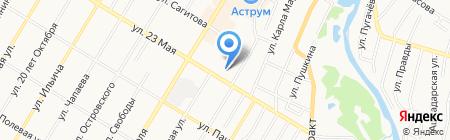 Средняя общеобразовательная школа №14 на карте Стерлитамака
