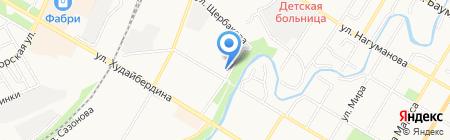 Kolombo Club на карте Стерлитамака
