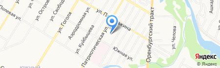 Средняя общеобразовательная школа №20 на карте Стерлитамака