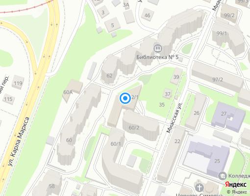 Управляющая компания «Эверест» на карте Уфы