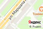 Схема проезда до компании HavanaSmoke в Перми