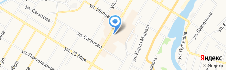 Мастерская по ремонту обуви на ул. Мира на карте Стерлитамака