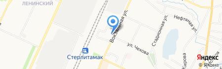 Рушана на карте Стерлитамака