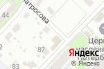 Схема проезда до компании Мебельный салон в Перми