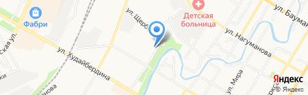 Детская библиотека №9 на карте Стерлитамака