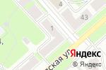 Схема проезда до компании Exclusive в Перми