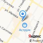 Башкирский межотраслевой институт в области повышения квалификации по охране труда на карте Стерлитамака