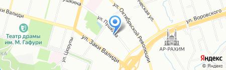 Монолит Дизайн на карте Уфы