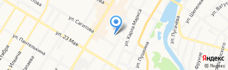 Башзооветснаб на карте Стерлитамака