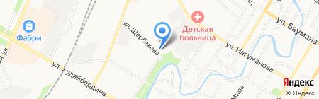 Юность на карте Стерлитамака