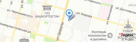 Арт проект Маруся на карте Уфы