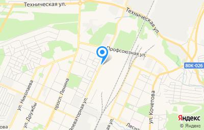Местоположение на карте пункта техосмотра по адресу Респ Башкортостан, г Стерлитамак, ул Элеваторная, зд 15 стр 2