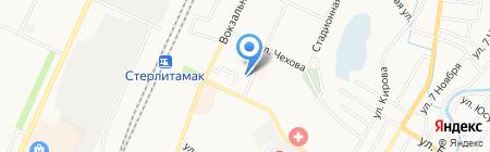 Детский сад №19 на карте Стерлитамака