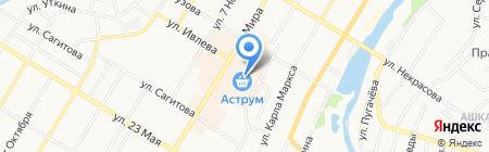 Титан на карте Стерлитамака