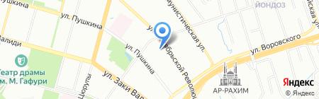 Наумов Ю.П. и партнеры на карте Уфы