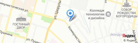 Сайяр на карте Уфы