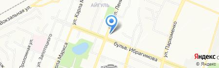 Якорь на карте Уфы