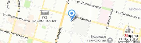 Национальная польская воскресная школа им. А.П. Пенькевича на карте Уфы