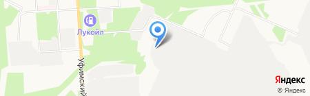 ТАУ НефтеХим на карте Стерлитамака