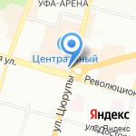 Управление Федеральной службы судебных приставов по Республике Башкортостан на карте Уфы