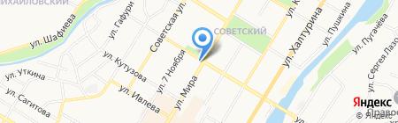 Медвет на карте Стерлитамака