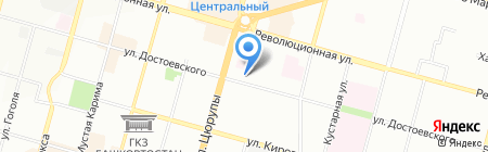 Диона на карте Уфы