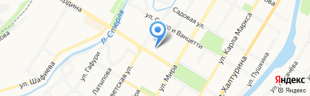 Fraga на карте Стерлитамака
