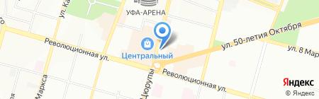 Мир часов на карте Уфы