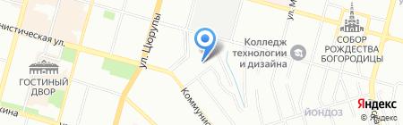 ПроектСтройМонтаж на карте Уфы