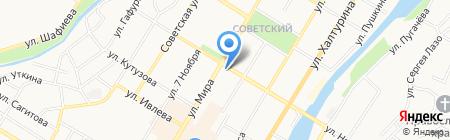 Непоседа на карте Стерлитамака