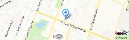 Школа рекламы и PR Анастасии Шумаковой на карте Уфы