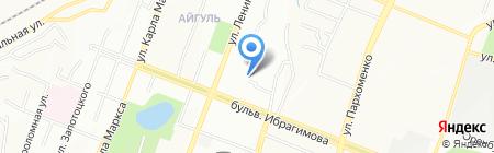 Городская поликлиника №40 на карте Уфы
