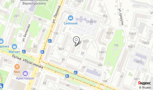 Городская поликлиника №40. Схема проезда в Уфе