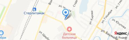 Стерлитамакземкадастр на карте Стерлитамака