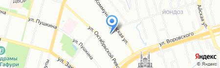 Химпром на карте Уфы