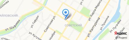 Татьянин день на карте Стерлитамака