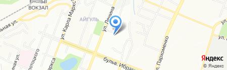 Детский сад №281 на карте Уфы
