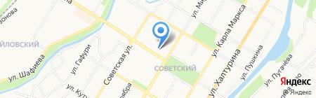 Алтын на карте Стерлитамака