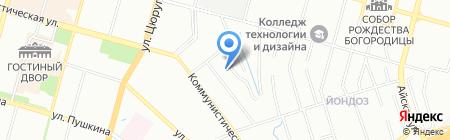 Клиника врачебной косметологии на карте Уфы
