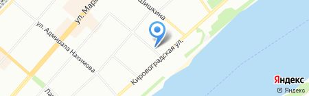Электроимперия на карте Перми