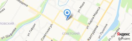 Сёма на карте Стерлитамака