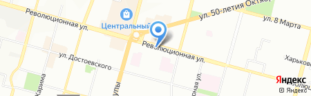 Дешевая аптека на карте Уфы