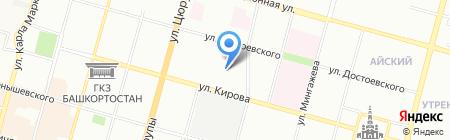 Фрейм на карте Уфы