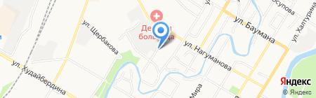 Кира на карте Стерлитамака