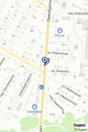 ГУСП ПЛОДОПИТОМНИЧЕСКИЙ СОВХОЗ СТЕРЛИТАМАКСКИЙ на карте Стерлитамака